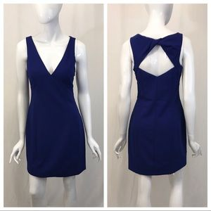 Vince Camuto Blue Open Back Event Dress